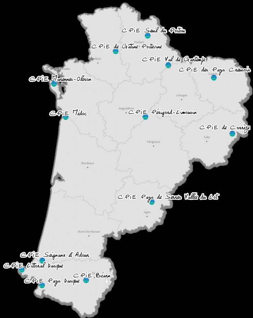 CPIE carte Nouvelle Aquitaine_2018