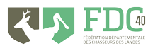 Logo Fédération départementale des chasseurs des Landes